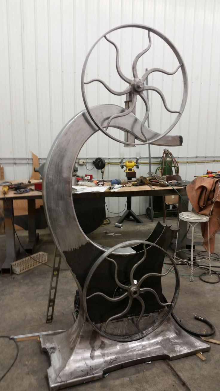 Antique bandsaw build by Cmptree - first post,  my latest project