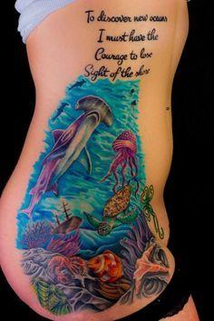 sea tattoos - Google Search