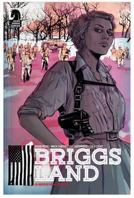 """Briggs Land, the story of a right wing antigovernment militia that runs hundreds of acres of family-owned woodlands as if it is a sovereign nation. Intrigues within """"Briggs Land"""" are complicated by FBI agents investigating..."""