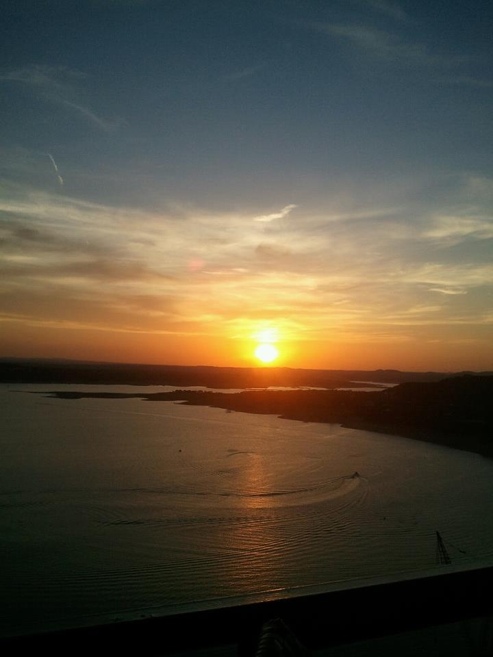The Oasis, Lake Travis Texas.  One of the top ten places in the US to watch the sun set.