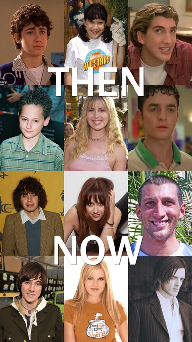"""Lizzie Mcguire"" Cast Then and Now    Can I be the first to say, what happened to some of them??"
