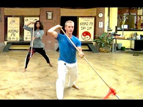 A Private REAL Kung Fu Lesson with Jake Mace - Chinese SPEAR