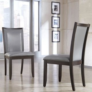 Shop for Signature Designs by Ashley 'Trishelle' Grey Dining Upholstered Side Chair (Set of 2). Get free shipping at Overstock.com - Your Online Furniture Outlet Store! Get 5% in rewards with Club O!