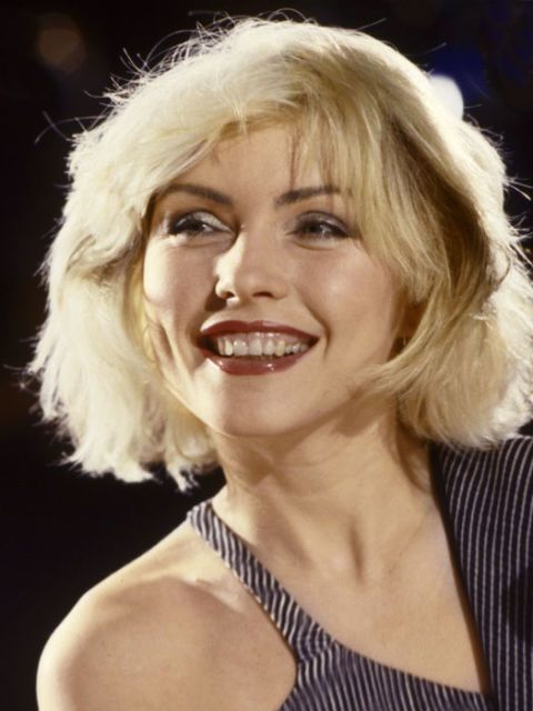 "<> MEDIUM Debbie Harry, 1979 © redferns/getty images [Deborah Ann ""Debbie"" Harry (born July 1, 1945) is an American singer-songwriter and actress, best known as the lead singer of the new wave and punk rock band Blondie.]"