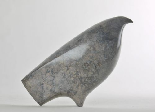 Bronze Figurative Abstract #sculpture by #sculptor Stephen Page titled: 'Bird of Prey' £995 #art
