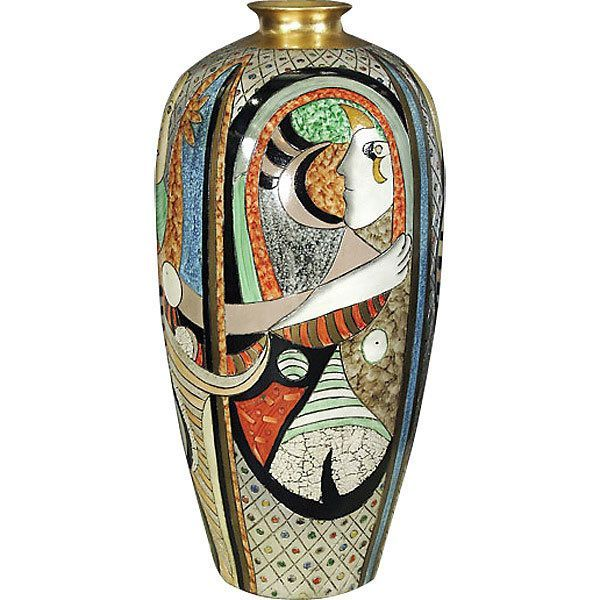 Shop Picasso Inspired Home Decor And Other Luxury Accessories On Martelle International Free Shipping Cubist Movement Picasso Large Vase