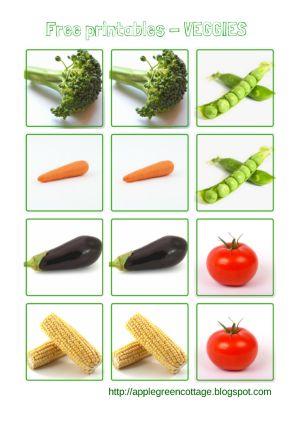 Get your veggies - Free printables | Vegetables, Vehicles ...