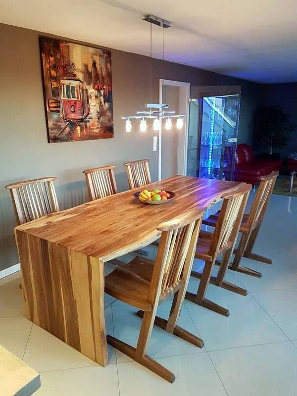 Walnut Table by Drewbetex.