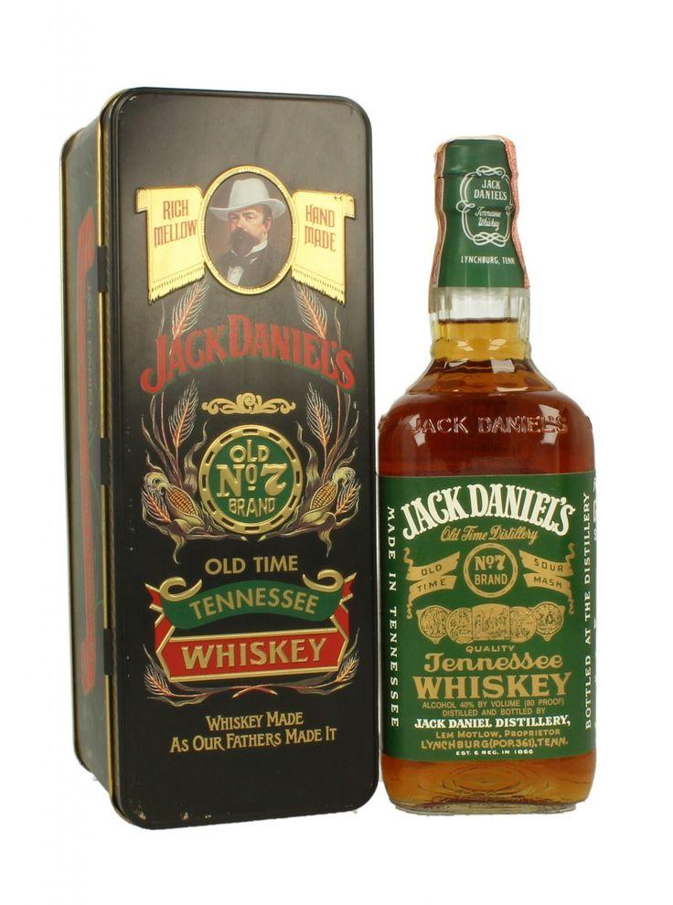 Jack Daniel's Green Label 75 CL 40% 1994