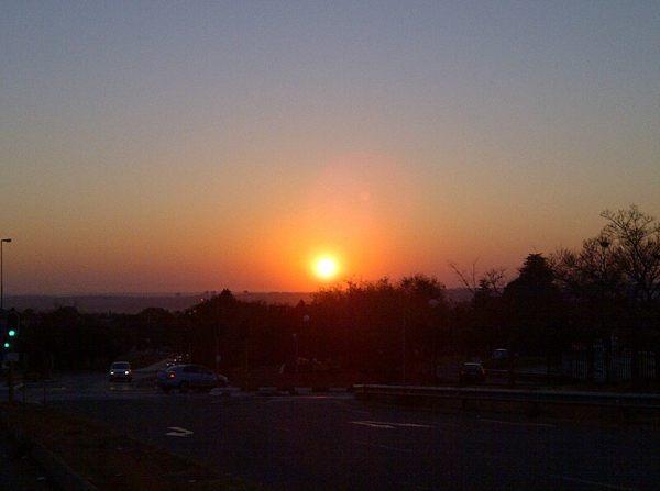 Johannesburg - Sunset - Photo Shared By @SamRobinson25