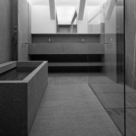 Modern bathroom inspiration bycocoon.com | grey minimalist | sturdy stainless steel bathroom taps | bath tubs | hotel projects | villa design | bathroom design & renovation | Dutch Designer Brand COCOON