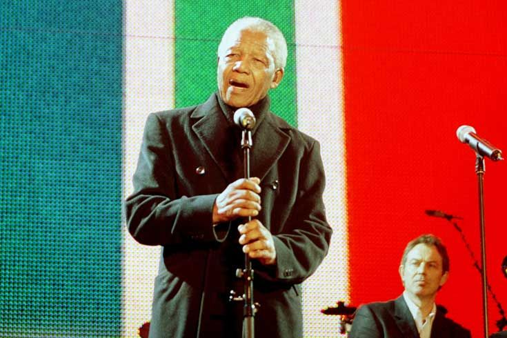 2001: Mandela was diagnosed and treated for prostate cancer, but this did not slow down his diplomatic efforts.