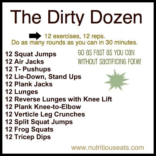 Fitness Friday | www.nutritiouseats.com