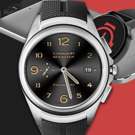 """First 10 people to buy will get this watchface with 35% discount  Discount code """"UFACEOPENING"""" Interactive Panerai Luminor Watch Face"""