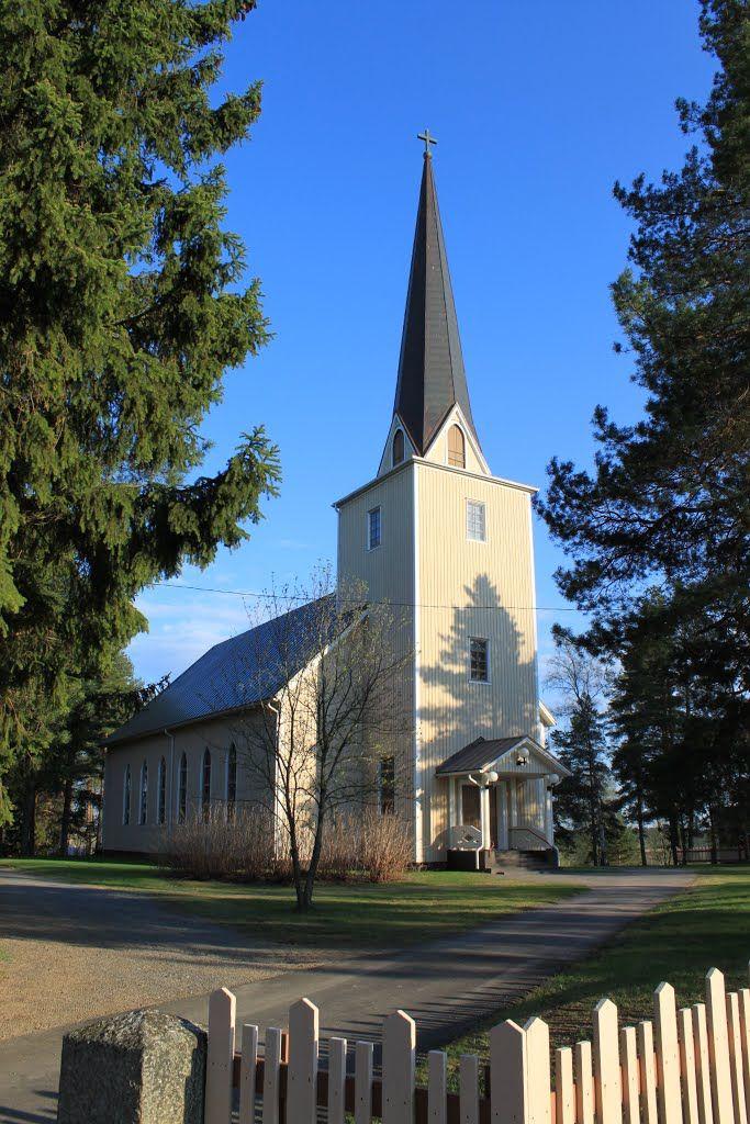 Tiistenjoki church. Lapua Finland. - photo Jorma Hokkanen
