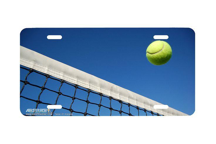 "Airstrike® 271-""Tennis"" Tennis License Plates"