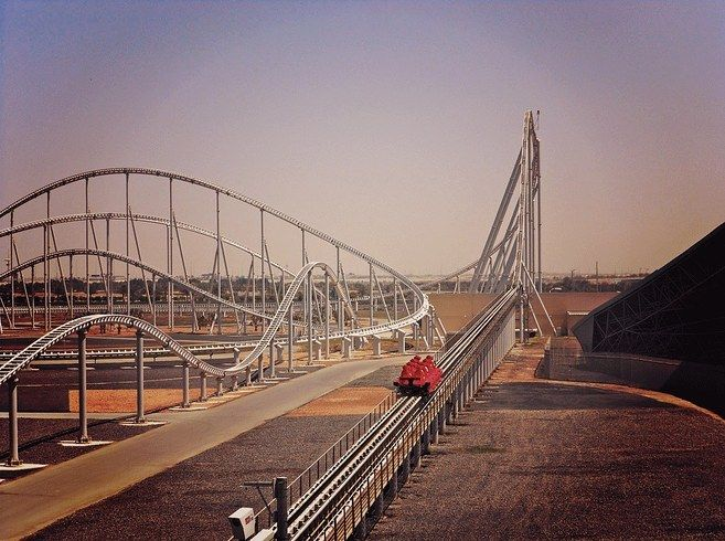 Experience maximum speed on Formula Rossa at Ferrari World Abu Dhabi.   11 Amusement Rides You Must Go On Before You Die