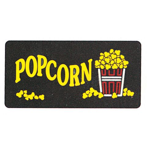 Popcorn Lighted Sign - #2984