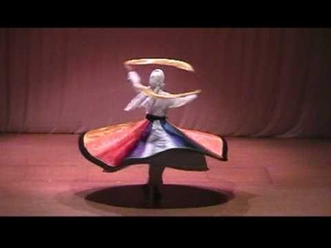 Rock nachnähen Tanura - Drehtanz - Derwisch mit Asita - orientalischer Tanz - YouTube