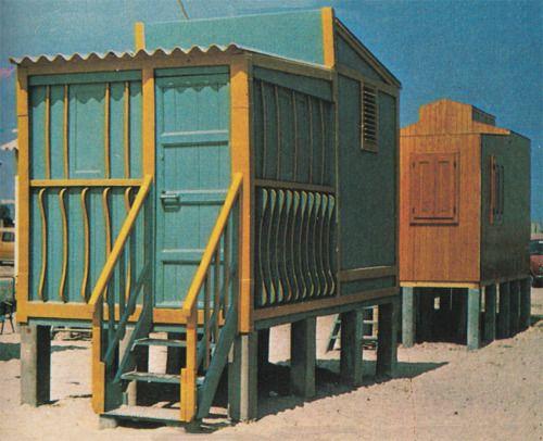 Poetto Beach Huts