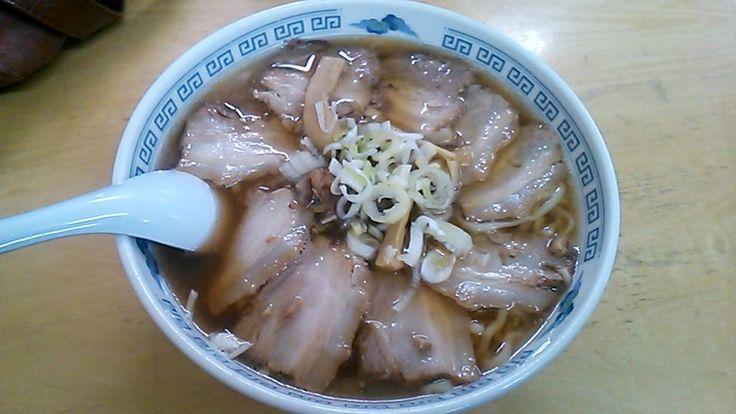 チャーシューメン(松食堂@喜多方市) | 以上、レポっす。