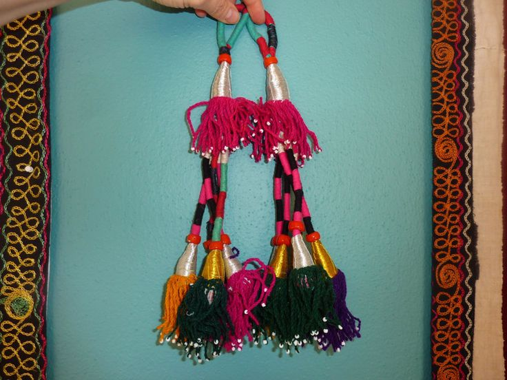 Quasten, Tribal-Tassels  von SALOME  auf DaWanda.com