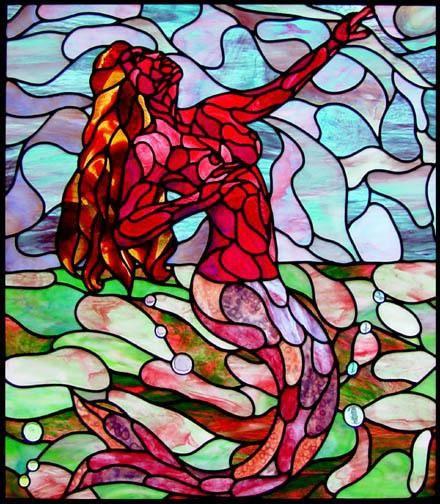 Mosaic Mermaid Merfolk Pinterest Mermaid Mosaics