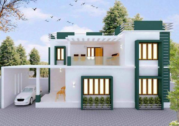 Stunning 3bhk Modern House Plan At Just 15 Lakhs Kerala House Design Bungalow House Design Duplex House Design