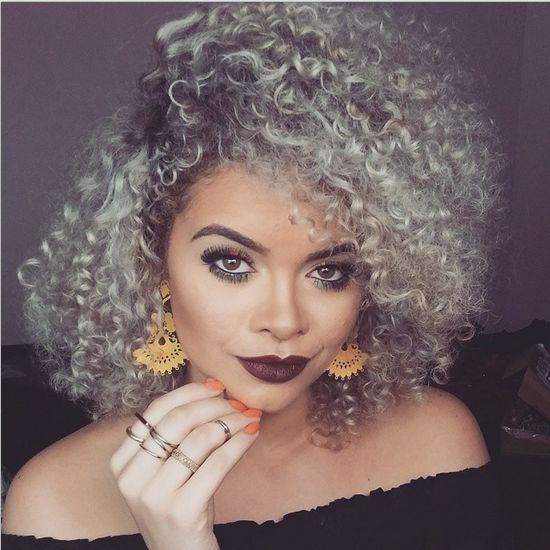 9 Naturals With Dope Gray Natural Hair On Instagram
