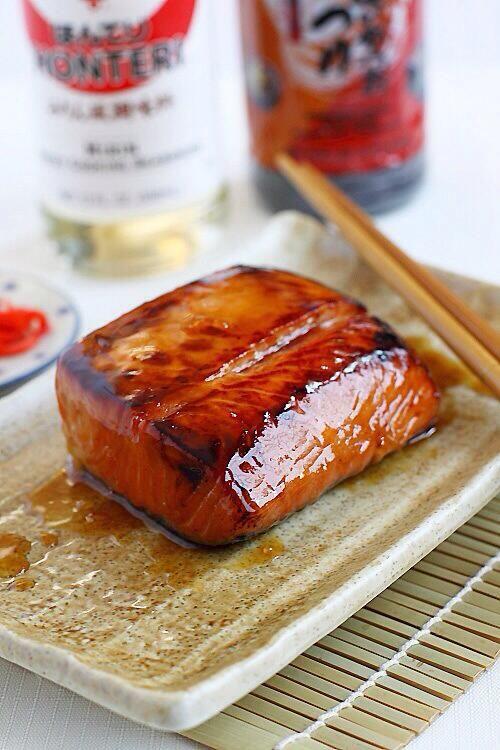 Wild Salmon Teriyaki