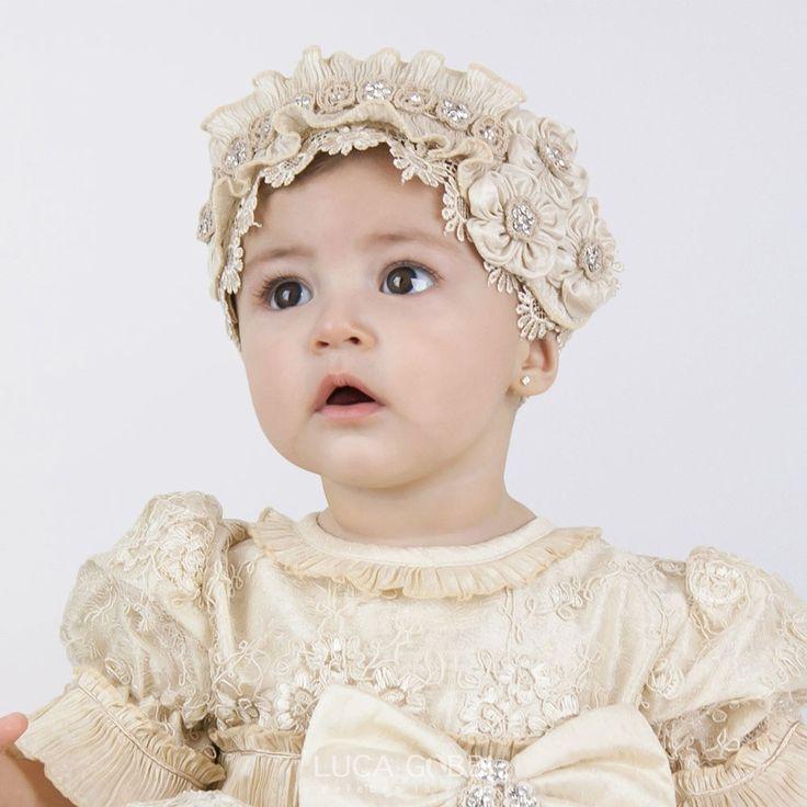 Las 25 mejores ideas sobre diademas para bautizo en pinterest coronas de primera comunion - Diademas para bebes bautizo ...