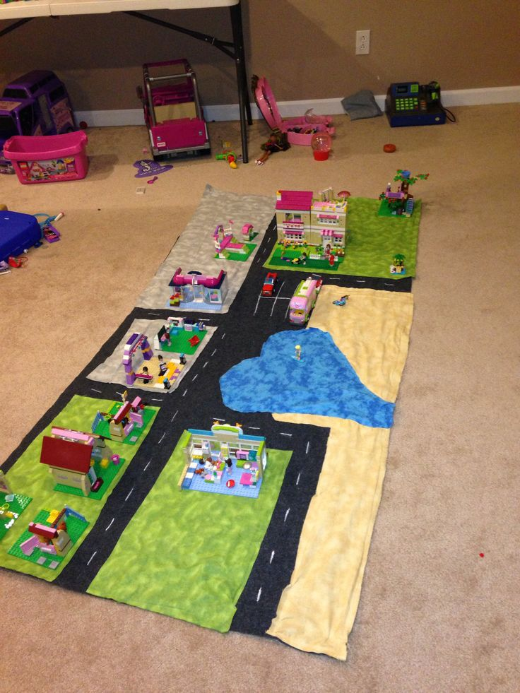 Lego Girl Play Mat Stuff I Ve Made Pinterest Plays