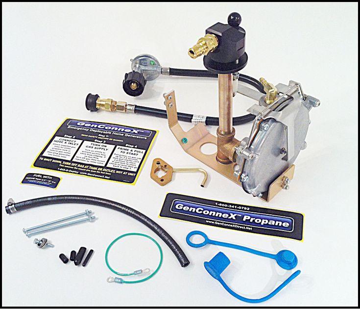 Off-Grid Power Supplies & Generators : Honda EU2000i Propane kit