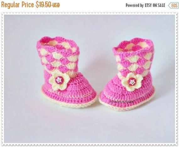 819 best crochet baby images on Pinterest | Babyschuhe, Pantoffeln ...