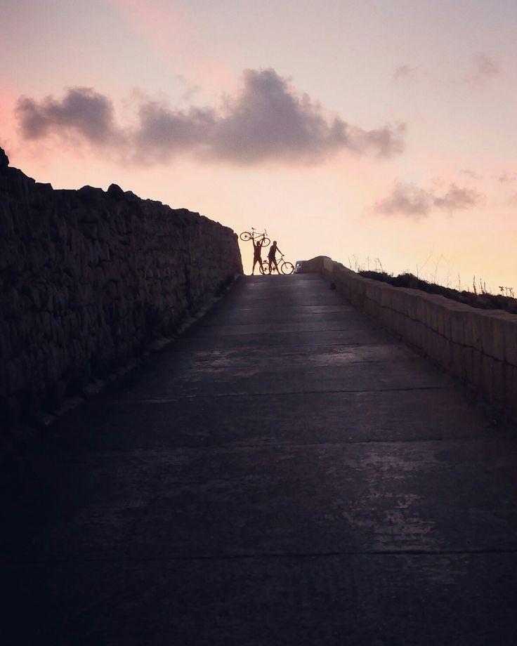 #bicycle #sunset #gozo