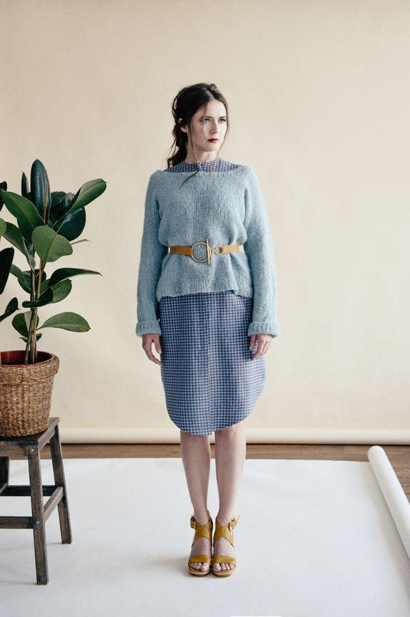 Dress by Saif2Clo brand, Pullover by It's My Hat brand. Season Spring'17. Платье от бренда Saif2Clo, Пуловер от бренда It's My Hat. Сезон Весна'17.