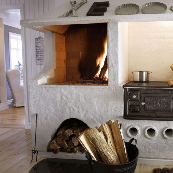 Bakken en koken op hout.