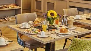 Frühstücksbuffet im im H4 Hotel Residenzschloss Bayreuth - Offizielle Webseite