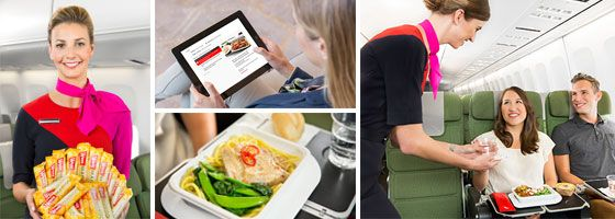 Outstanding friendly Qantas inflight service