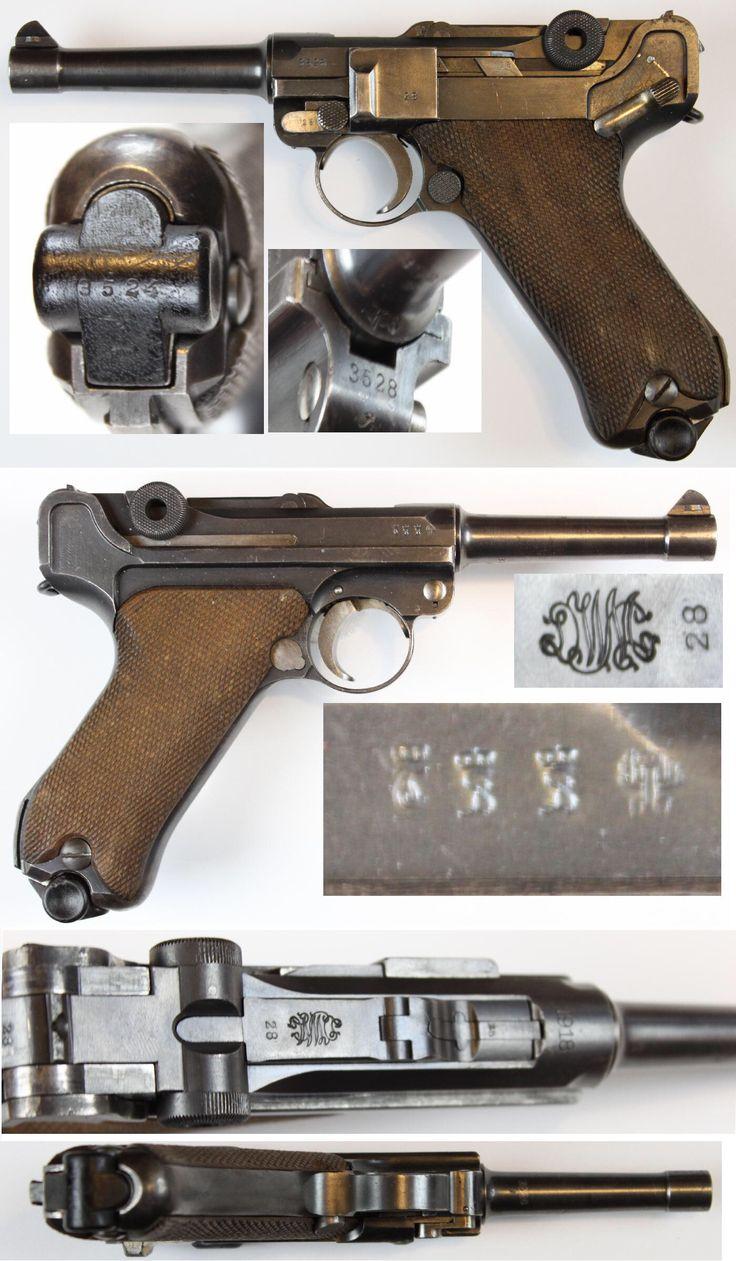 P08 Luger by DWM