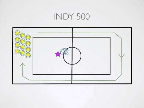 Physical Education Games - Indy 500