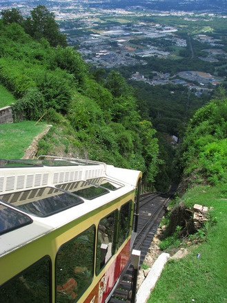 #Fantastic Funiculars - Incline Railway at Lookout Mountain - Chattanooga, Tennessee  #Travel Tennessee USA multicityworldtravel.com We cover the world over 220 countries, 26 languages and 120 currencies Hotel and Flight deals.guarantee the best price