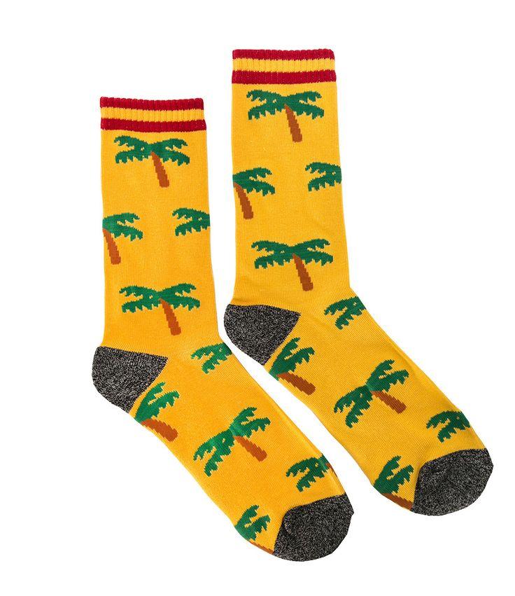 Reason- palm tree socks