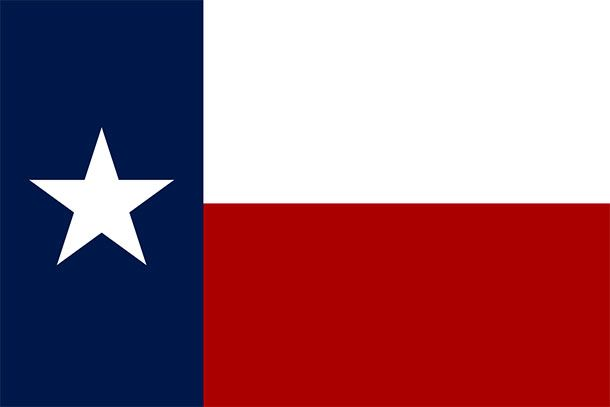 large Texas Flag Free Animated flags