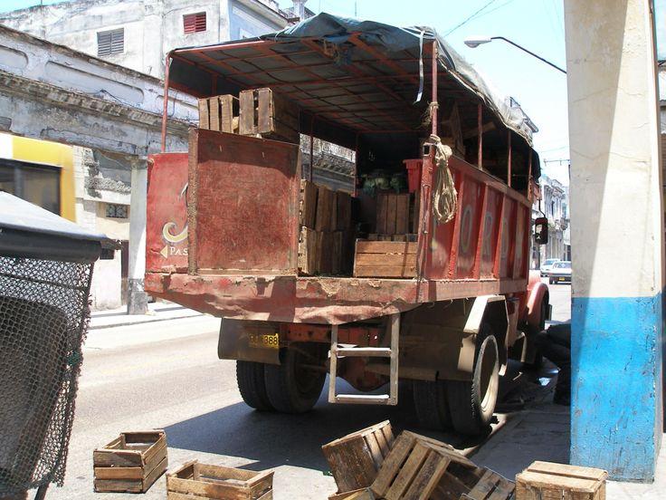Havana, Cuba, truck