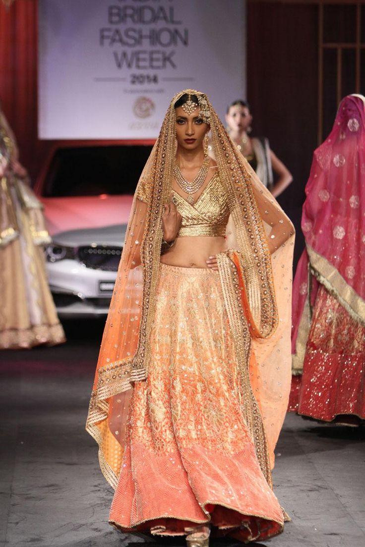 Kotwara by Meera & Muzaffar Ali https://www.facebook.com/KotwaraStudiosOfficial at @IndiaBridalWeek #IBFW2014 (August)