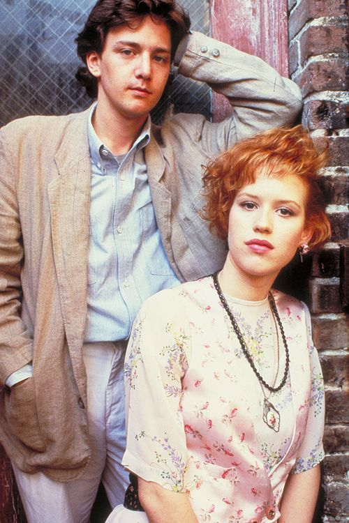 Molly Ringwald and Andrew McCarthy for Pretty in Pink