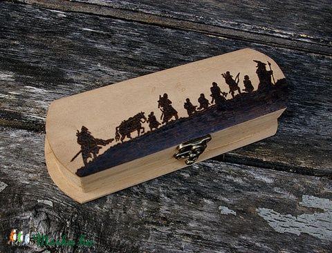 Meska - Gyűrűk Ura dobozka Silvermango kézművestől