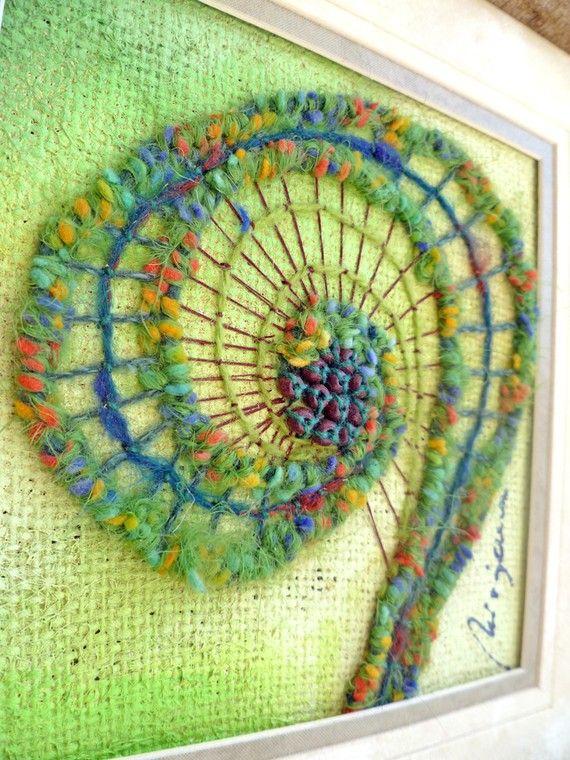 Fiber Art Embroidery | Makaroka.com