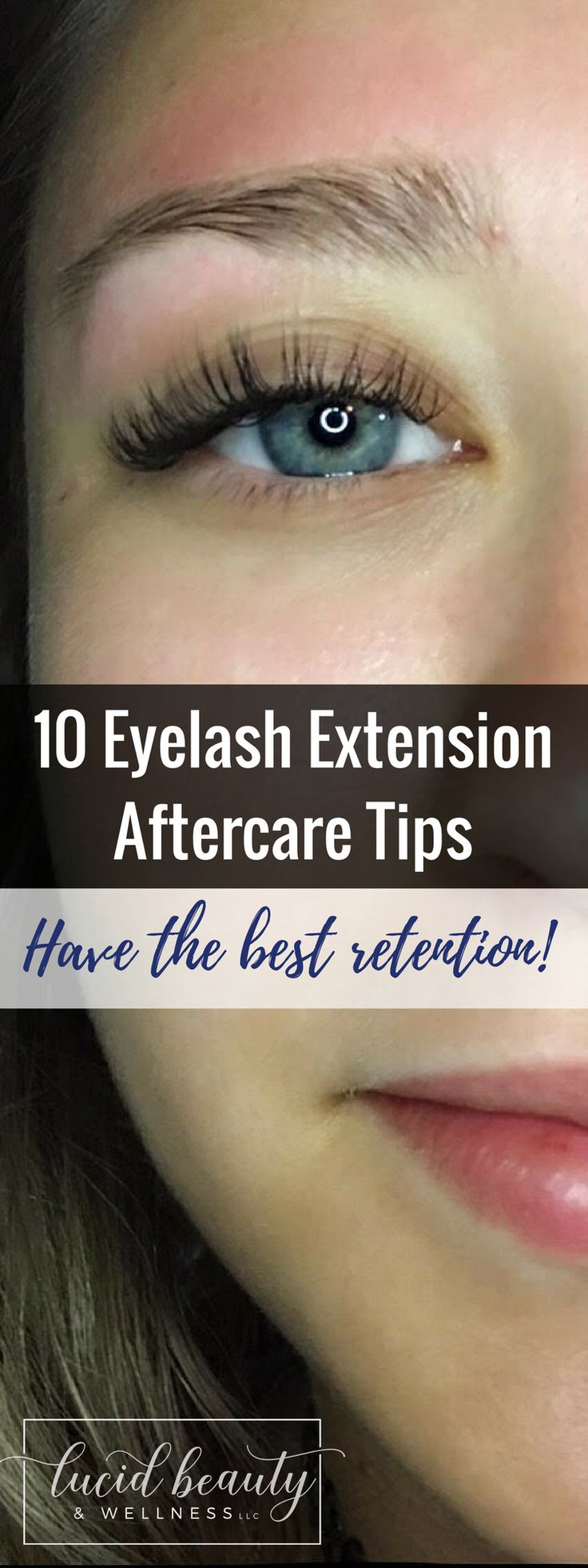10 Eyelash Extension Aftercare Tips For the Best Retention! It's time for Ask a Lash Artist! By Molly Kearns of Lucid Beauty & Wellness, LLC in Catonsville, MD.
